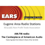 AM/FM radio:  The Centerpiece of American Audio